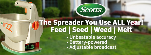 Scotts: The Spreader You Use All Year!